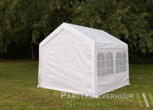 Partytent 3x3 meter achterkant huren - Partytentverhuur Nederland