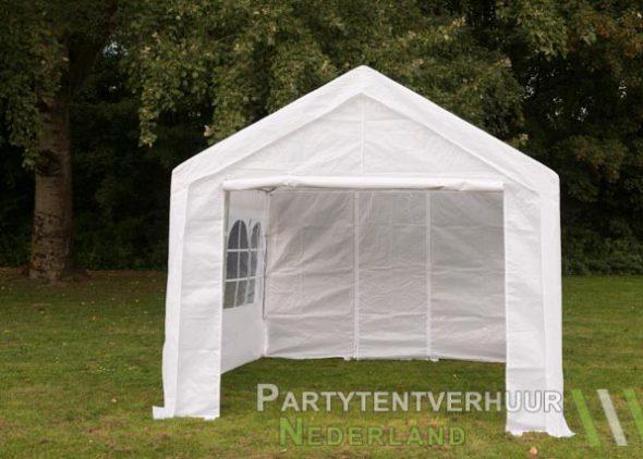 Partytent 3x3 meter voorkant huren - Partytentverhuur Nederland