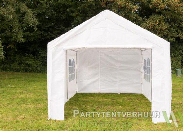 Partytent 3x4 meter voorkant huren - Partytentverhuur Nederland
