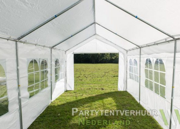 Partytent 3x6 meter binnenkant huren - Partytentverhuur Nederland