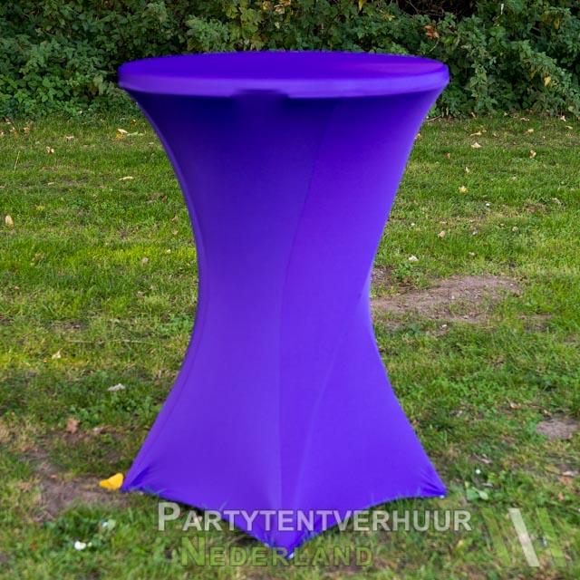 9a0513b62056b0 Statafel met rok paars huren - Partytentverhuur Nederland