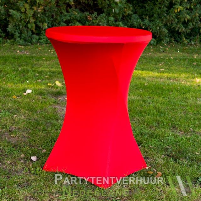72ab5731170caf Statafel met rok rood huren - Partytentverhuur Nederland