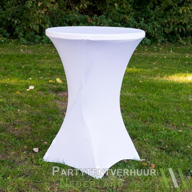12e6372551f79d Statafel met rok wit huren - Partytentverhuur Nederland