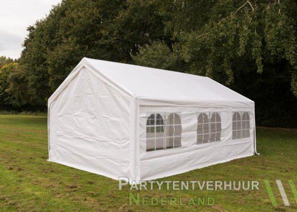 Partytent 4x6 meter achterkant huren - Partytentverhuur Nederland