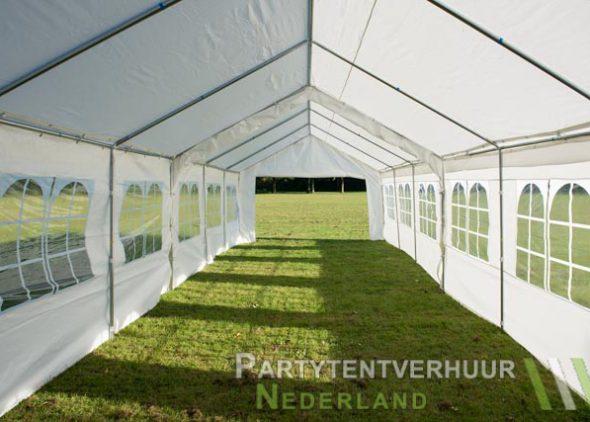 Partytent 6x12 meter binnenkant open huren - Partytentverhuur Nederland