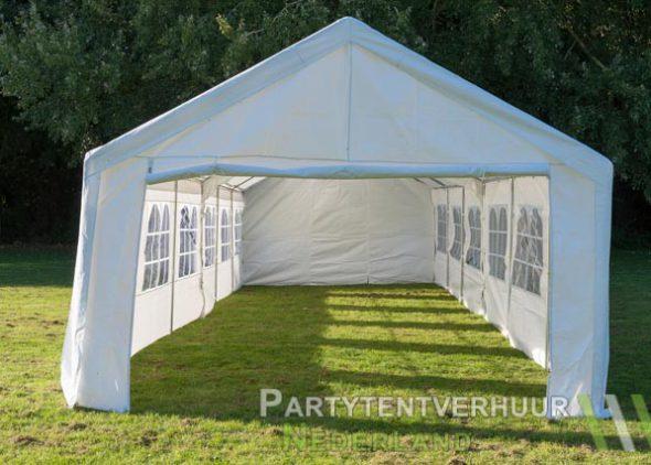 Partytent 6x12 meter voorkant huren - Partytentverhuur Nederland