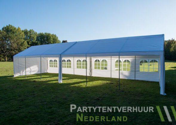 Partytent 6x12 meter zijkant open huren - Partytentverhuur Nederland