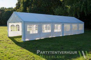 Partytent 6x12 meter zijkant rechts huren - Partytentverhuur Nederland