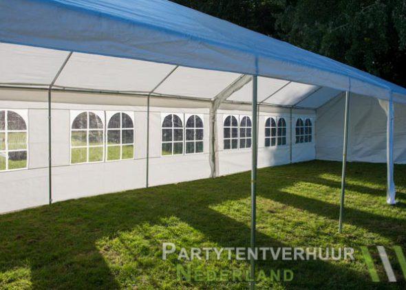 Partytent 6x12 meter zijkant rechts open huren - Partytentverhuur Nederland