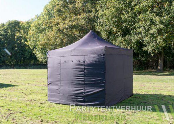 Easy up tent 3x3 meter achterkant huren- Partytentverhuur Nederland