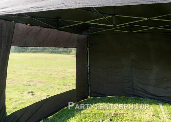 Easy up tent 3x3 meter binnenkant huren - Partytentverhuur Nederland