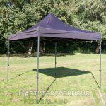 Easy up tent 3x3 meter schuin huren - Party Nederland