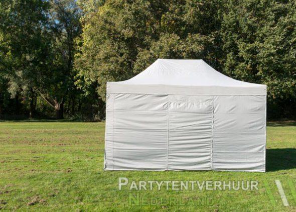 Easy up tent 3x4,5 meter achterkant huren - Partytentverhuur Nederland