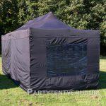 Easy up tent 3x6 meter achterkant huren - Partytentverhuur Nederland