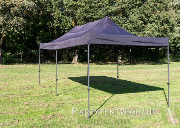 Easy up tent 3x6 meter schuin voorkant huren - Partytentverhuur Nederland