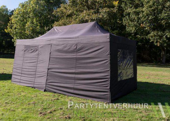 Easy up tent 3x6 meter zijkant huren - Partytentverhuur Nederland