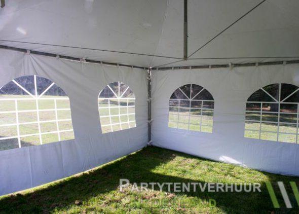 Pagodetent 4x4 meter binnenkant huren - Partytentverhuur Nederland