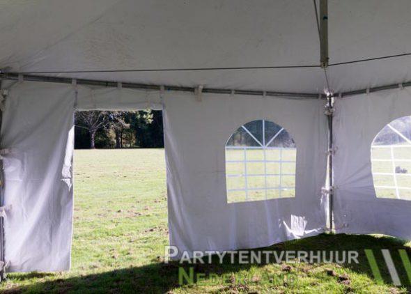 Pagodetent 4x4 meter binnenkant met deur huren - Partytentverhuur Nederland