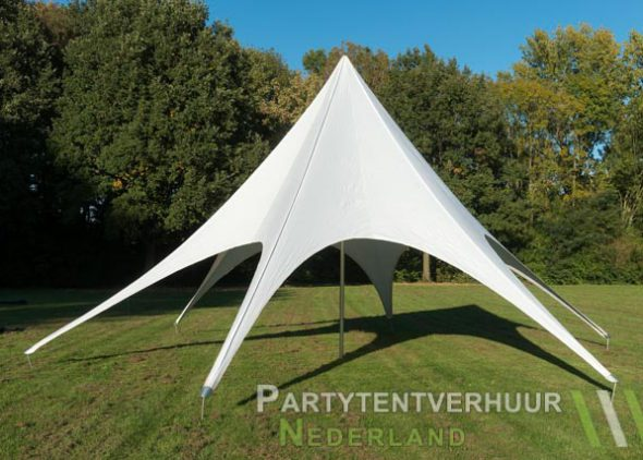Stertent voorkant huren - Partytentverhuur Nederland
