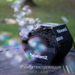 Bellenblaasmachine met bellen huren - Partytentverhuur Nederland