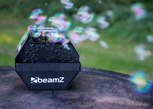 Bellenblaasmachine met bellenblaas huren - Partytentverhuur Nederland