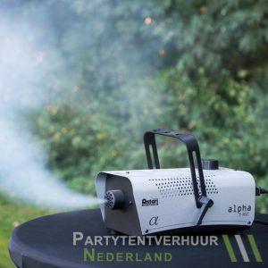 Rookmachine actiefoto huren - Partytentverhuur Nederland