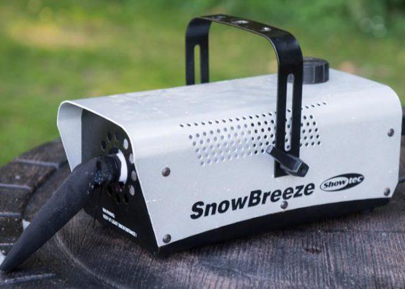 Sneeuwmachine huren - Partytentverhuur Nederland