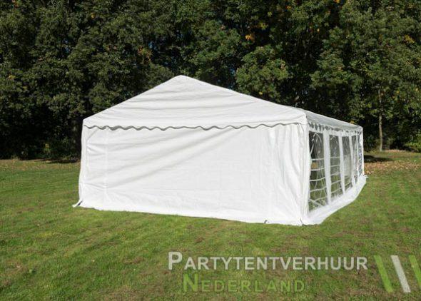 Partytent 5x10 meter achterkant huren - Partytentverhuur Nederland
