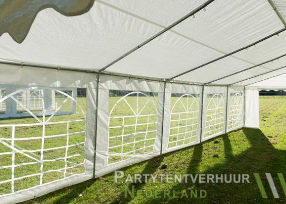Partytent 5x10 meter binnenkant schuin huren - Partytentverhuur Nederland