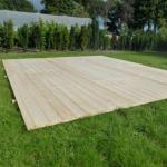 Partytent houten ondervloer