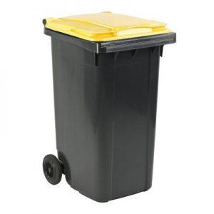 Gele container huren Nederland