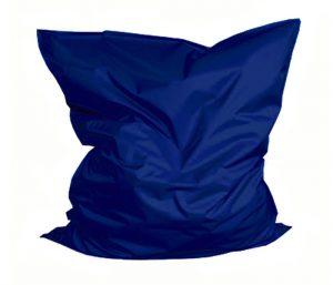 Donkerblauwe zitzak huren Nederland