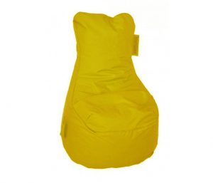Zitzak geel met leuning Nederland