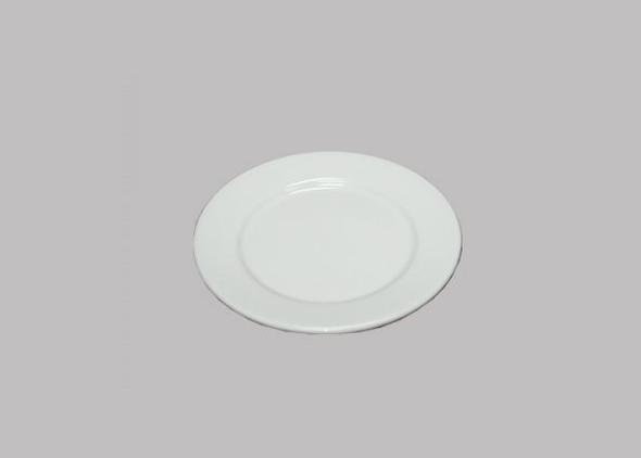 Klassiek wit bord 16cm Huren - Partytentverhuur Nederland
