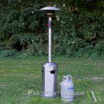 Patioheater met gasfles huren - Partytentverhuur Nederland