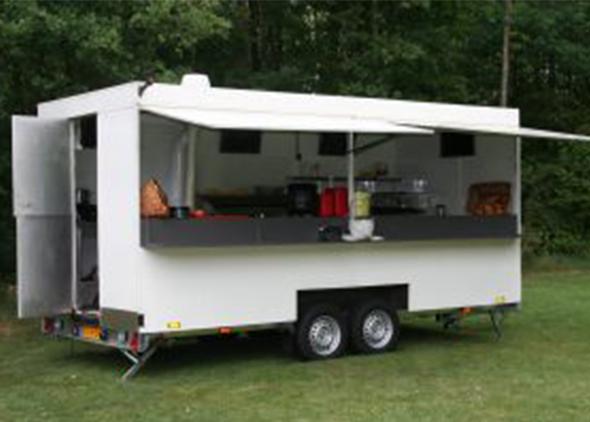 Frietwagen huren Nederland