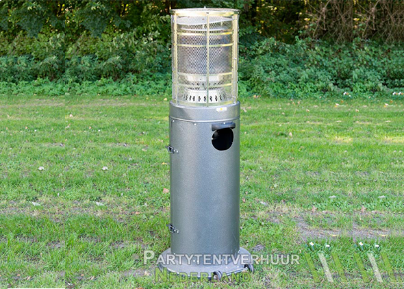 Gasheater voorkant huren - Partytentverhuur Nederland